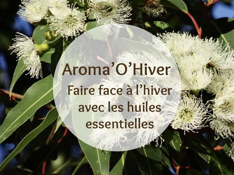 Cette image représente la formation Aroma'O Hiver pour faire face à l'hiver avec les huiles essentielles