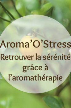 Cette image représente l'Aroma'O Stress, formation pour retrouver la sérénité grâce à l'aromathérapie